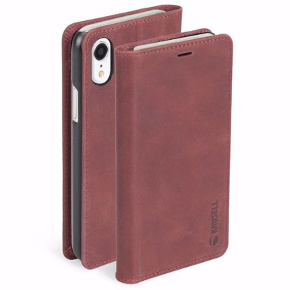 Picture of Krusell Krusell Sunne 4 Card Folio Case for Apple iPhone XR in Red
