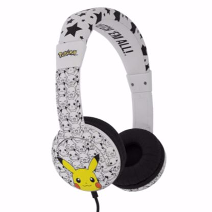 Picture of OTL OTL Pokemon Junior Headphones in Pikachu Face