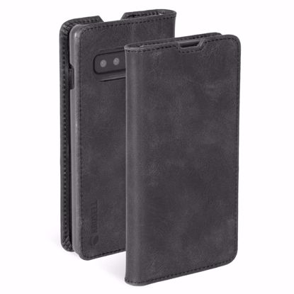 Picture of Krusell Krusell Sunne 2 Card Folio Wallet Case for Samsung Galaxy S10+ in Vintage Black