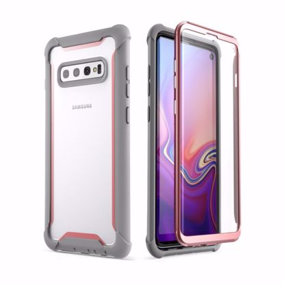 Picture of i-Blason i-Blason Ares Full Body Case with Screen Protector for Samsung Galaxy S10 in Pink